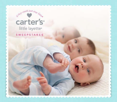 Carter's Little Layette Sweepstakes & $50 Carter's Gift ...