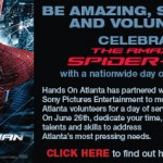 Atlanta participates in The Amazing Spider-Man™ national volunteer day to benefit Stand Up To Cancer