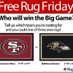 Free Rug Friday - NFL