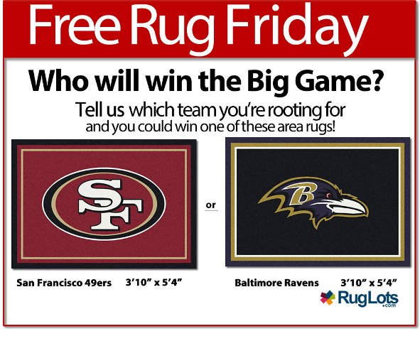 Free Rug Friday - NFL UPDATED