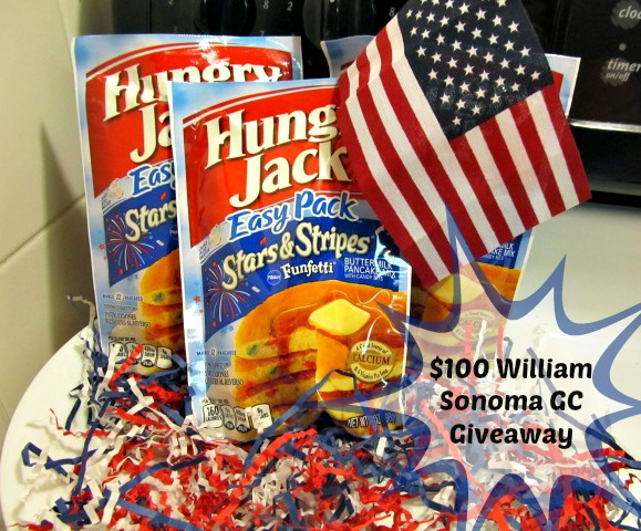 william sonoma giveaway celebrate the 4th of july with hungry jack stars stripes 3930