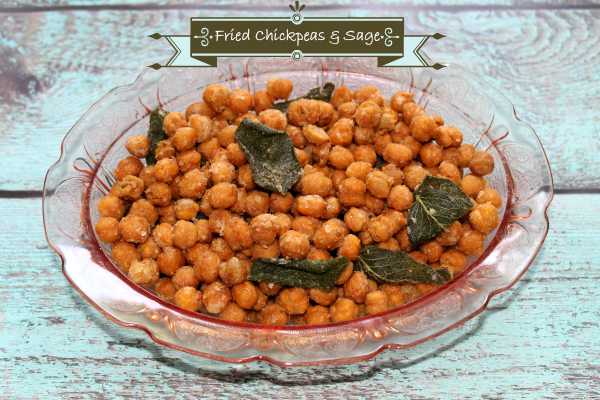 Fried Chickpeas and Sage Recipe