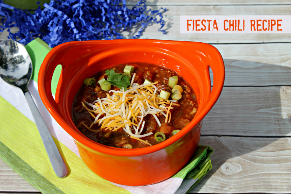 Fiesta Chili Recipe 600