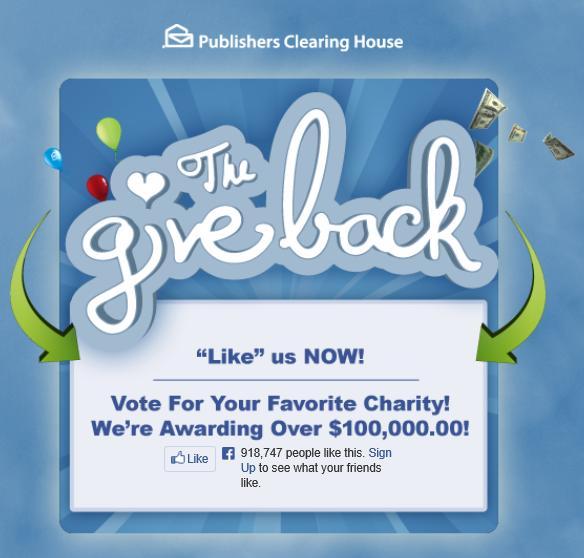 PCH GiveBack