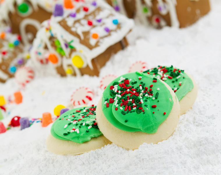 Frosted Holiday Cookies for the Season of Joy