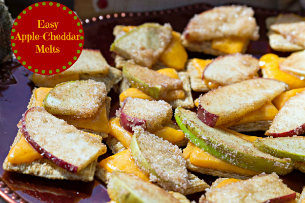 apple cheddar melts recipe