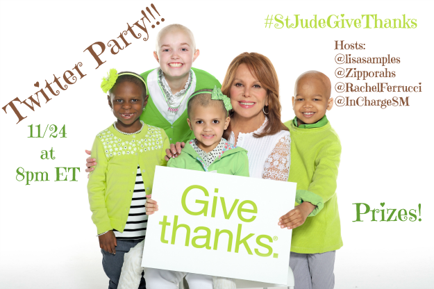 st jude twitter party