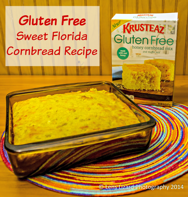 Gluten Free Sweet Florida Cornbread Recipe