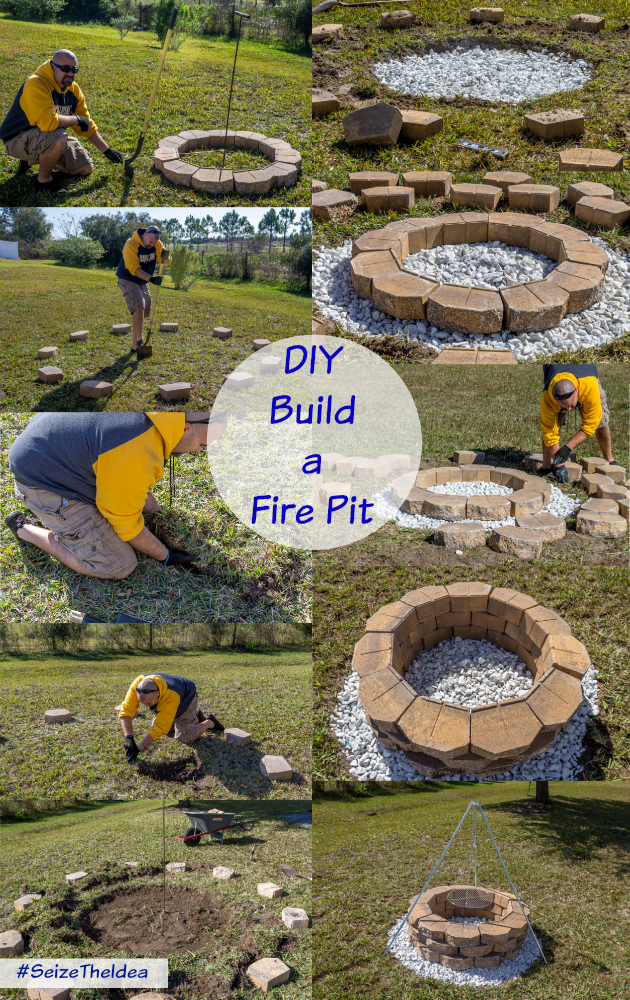 Build a fire pit pictures to pin on pinterest pinsdaddy for How do i build a fire pit