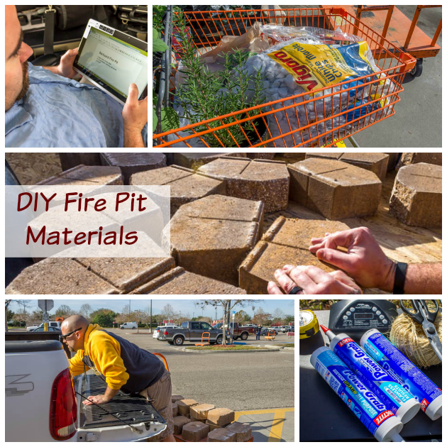 diy pit material list diy build a backyard pit