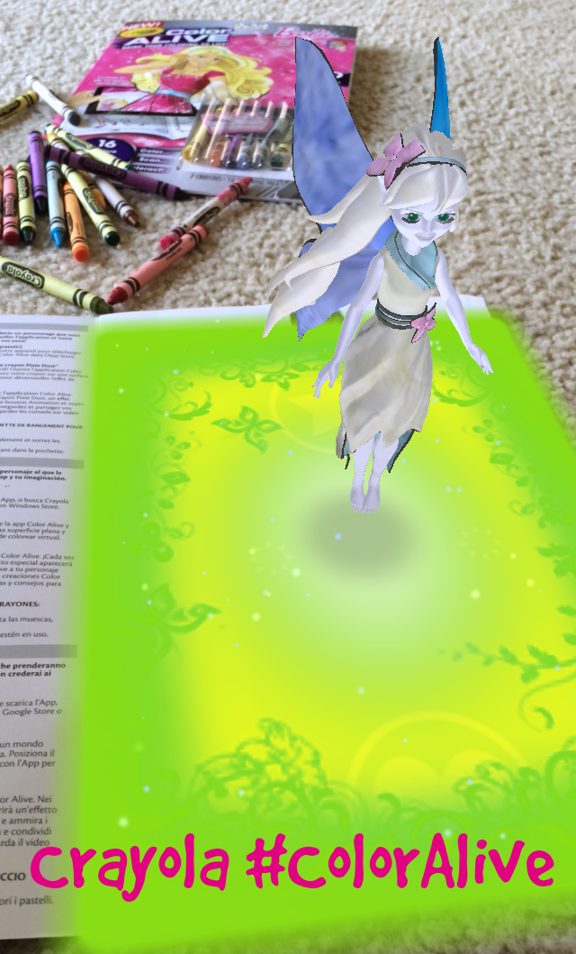 crayola color alive action coloring pages mythical creatures - bring images to life with crayola color alive