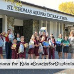 Champions for Kids #SnacksforStudents Gives to Local Youth