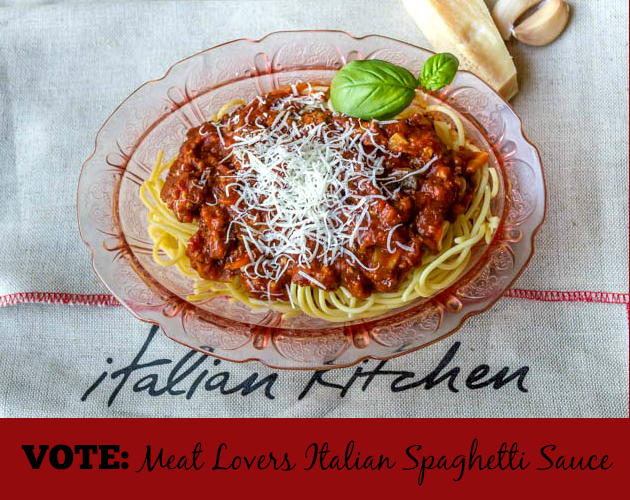 Meat Lovers Italian Spaghetti Sauce Recipe