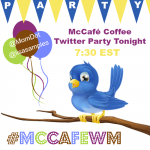 Party Time: McCafé Coffee Twitter Party Tonight #McCafeWM