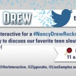 Join Us for a #NancyDrewRocks Twitter Party 5/28 at 2pm ET