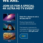 4k ultra hd tv event