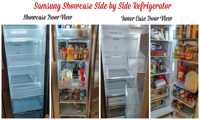 Samsung Showcase Side By Side Refrigerator At Best Buy