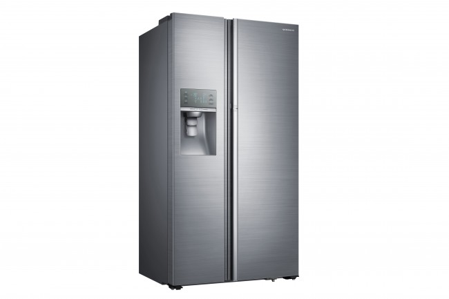 samsung showcase side by side refrigerator at best buy. Black Bedroom Furniture Sets. Home Design Ideas