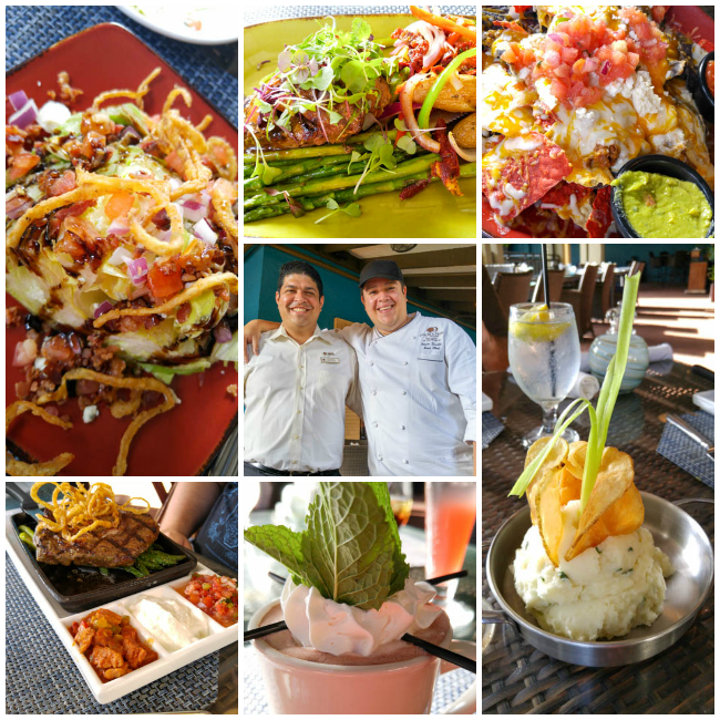Doubletree Orlando Dinner Collage