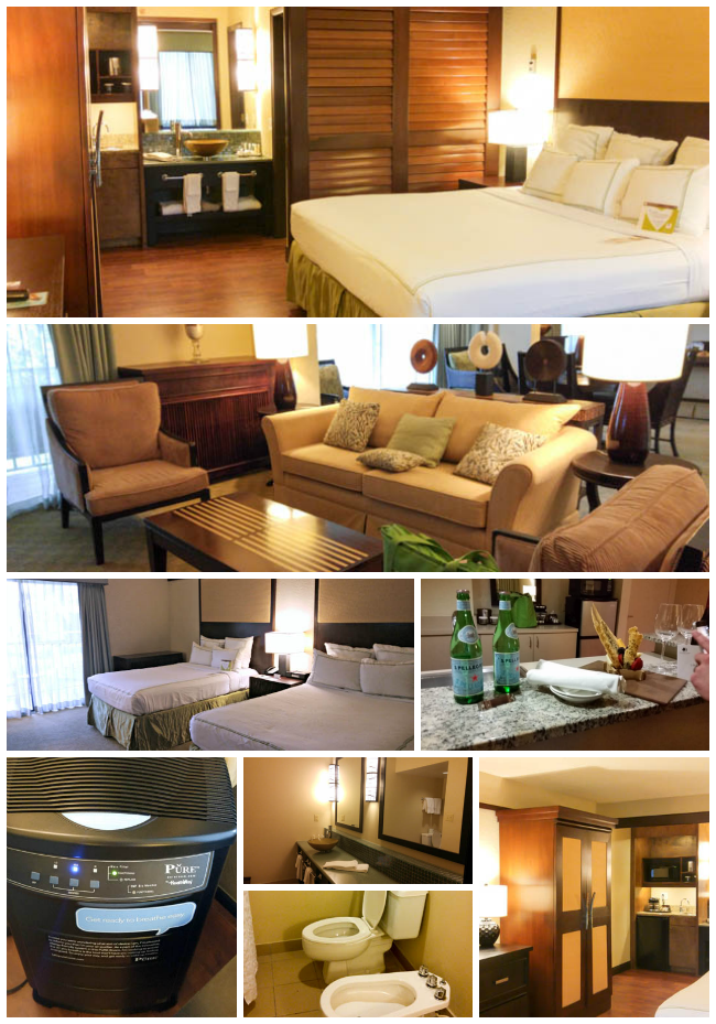 Doubletree Rooms Collage