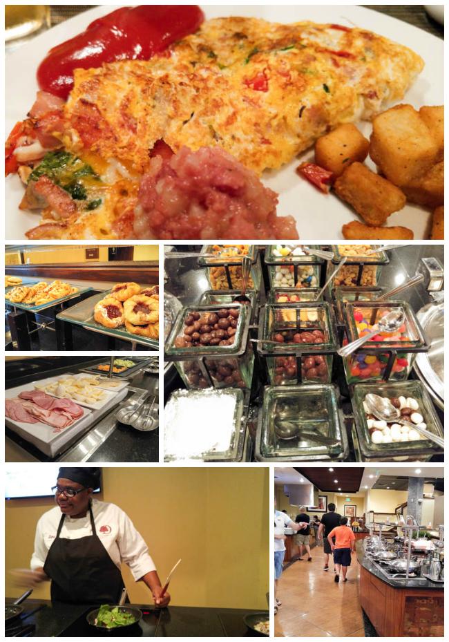 Doubltree Breakfast Collage