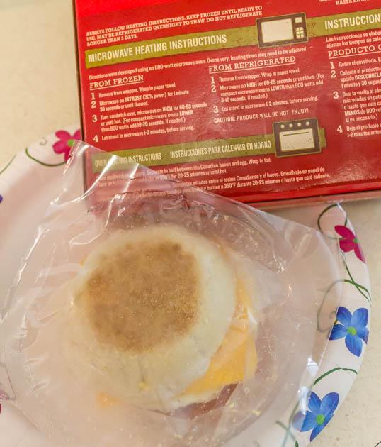 Back To School Jimmy Dean Breakfast Sandwich At Home