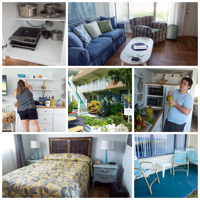 Tuckaway Shores Resort Room Collage