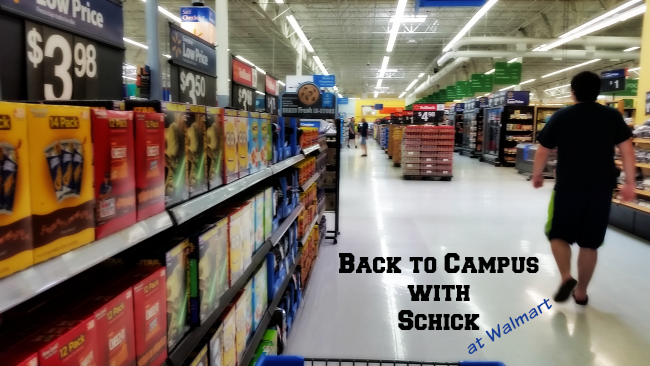 back to campus with schick