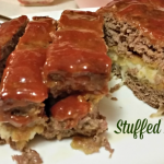 Delicious Mozzarella Stuffed Meatloaf Recipe