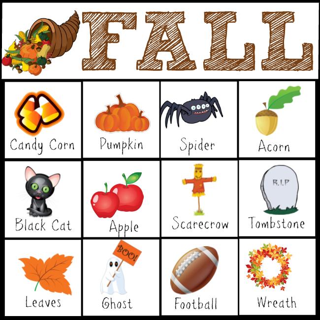 Halloween Scavenger Hunt Printables #FallFun31