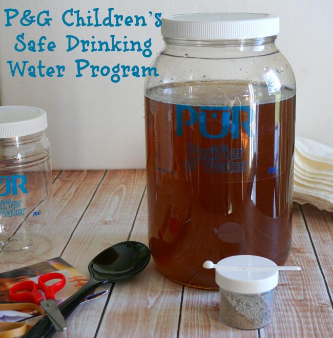 P&G Children's Safe Drinking Water Program