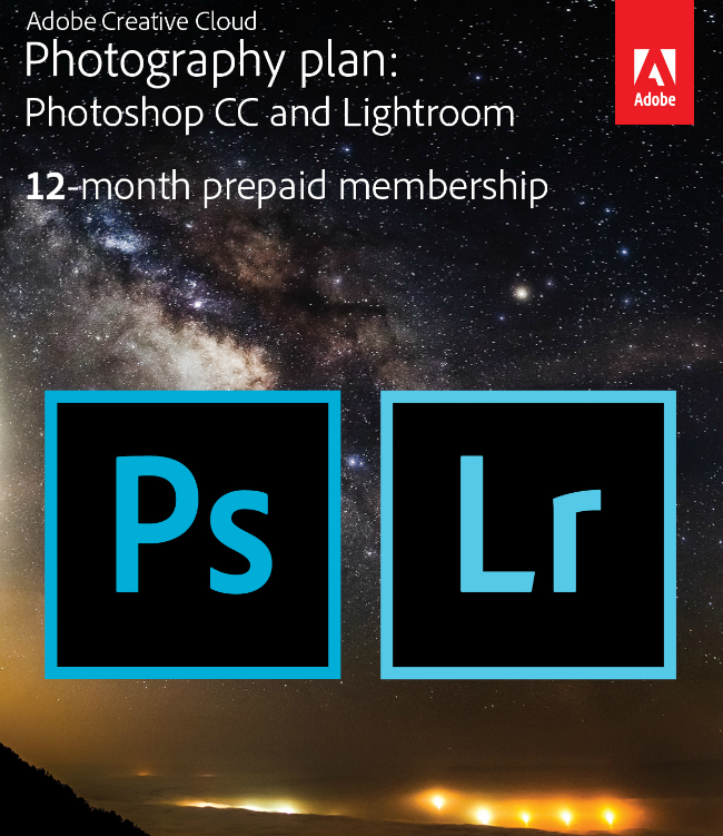 Adobe Creative Cloud Photography from Best Buy