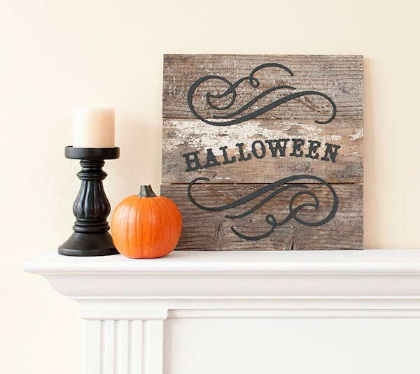 Decorate for Fall with Cricut - Halloween Fall Sign