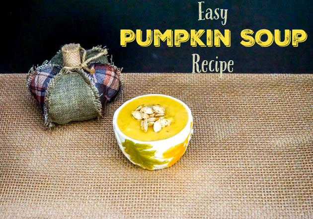 Easy Pumpkin Soup Recipe WM s