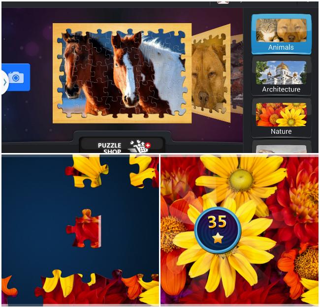 Magic Puzzle Collage
