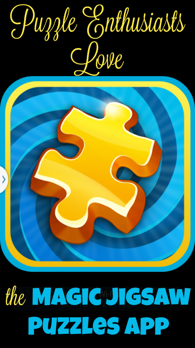 Puzzle enthusiasts love the magic jigsaw puzzles app Magic app
