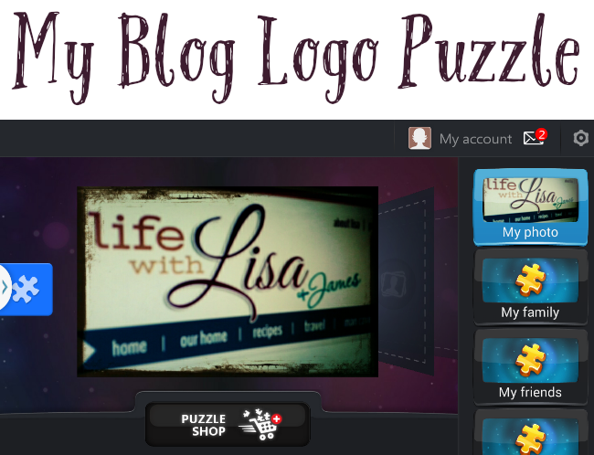 my blog logo puzzle
