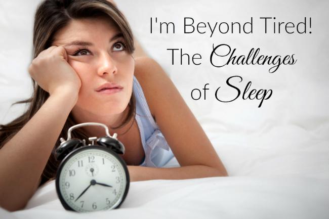 Challenges of Sleep