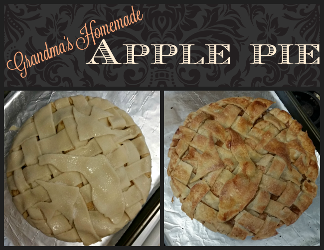 Grandma's Homemade Apple Pie Recipe