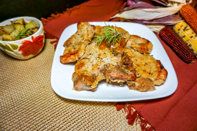 Rosemary Apricot Pork Chop Recipe