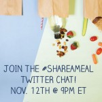 Join the #ShareAMeal Twitter Party 11/12 at 9pm ET