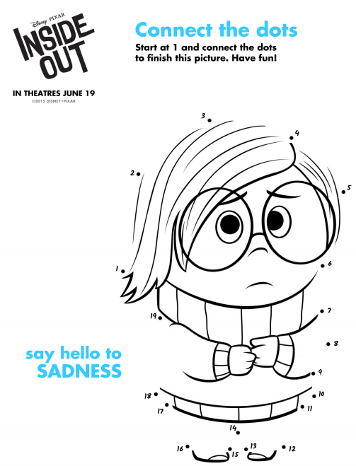 inside out connect the dots activity sheet