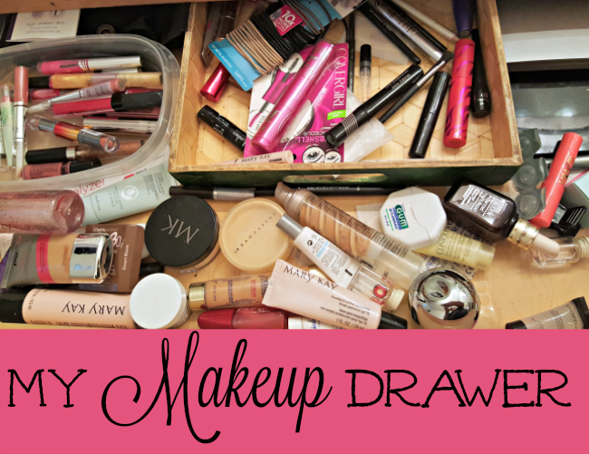 Wordless Wednesday My Makeup Drawer