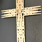 Homemade Holiday Gift: Wooden Cross