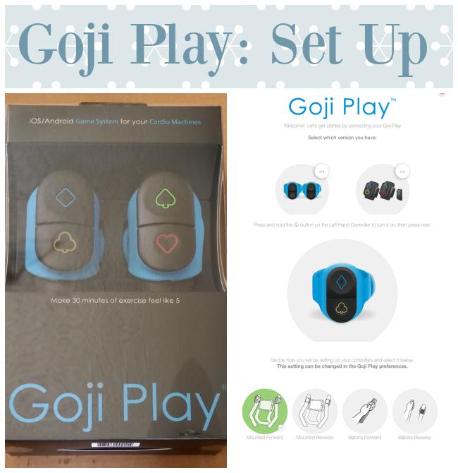 Goji Play Set up