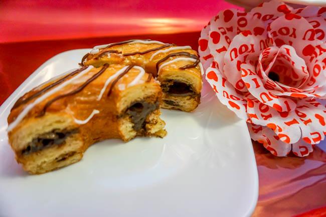 Dunkin Donuts Fudge Croissant Donut (2 of 4)