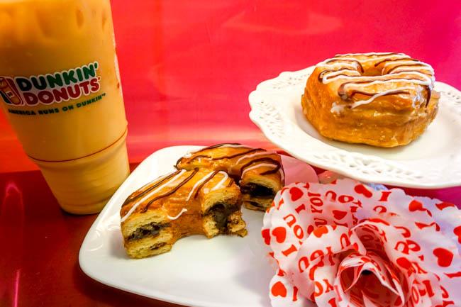 Dunkin Donuts Fudge Croissant Donut (4 of 4)
