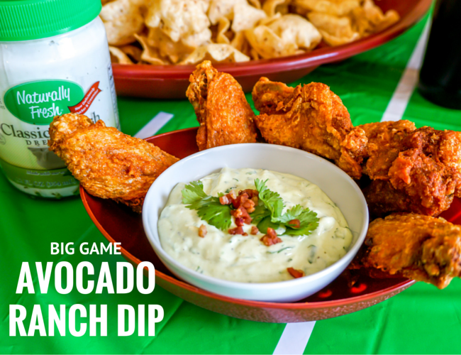 Big Game Avocado Ranch Dip Recipe