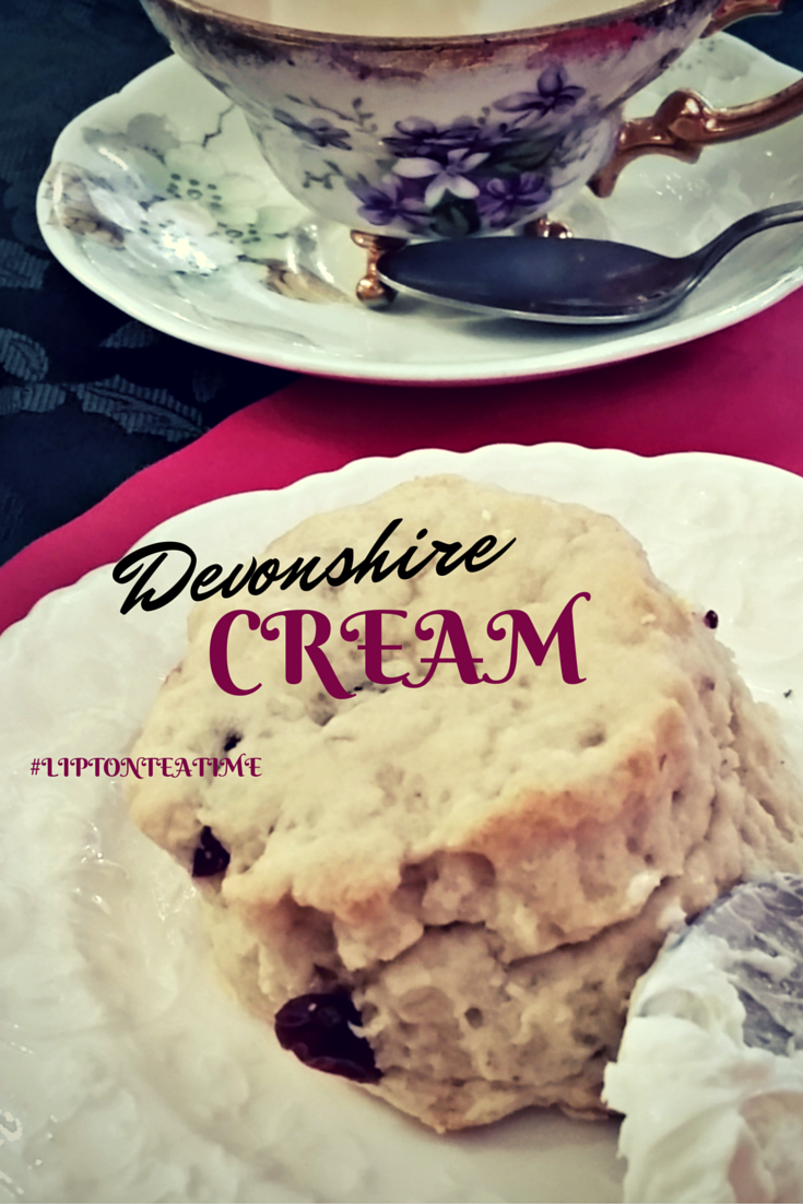 Afternoon Tea Time featuring Homemade Devonshire Cream