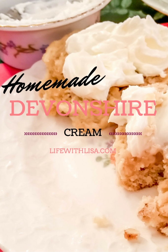Homemade Devonshire Cream Recipe